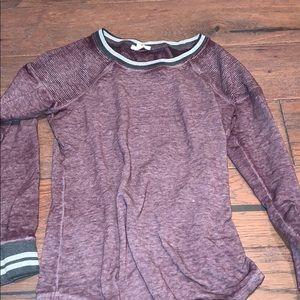 Maurices Purple Long Sleeve T-Shirt👕